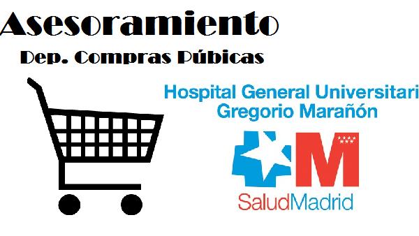 Asesoramiento Departamento de Compras Publicas Hospital Gregorio Marañón