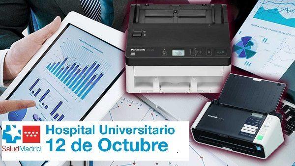 Trabajos de Búsqueda, Digitalización y Carga Hospital 12 de Octubre